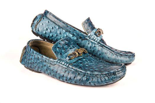 Blue glamor shoes