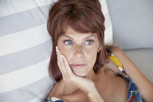 Adult woman portrait