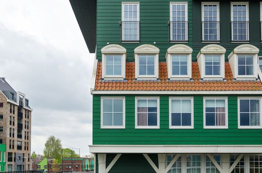 Traditional architecture of the Zaan region