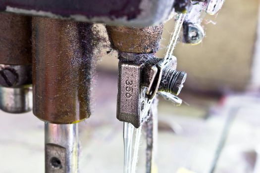 Close-up sewing machine, household industry
