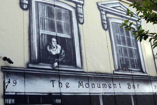 front view of the monument bar in cobh county cork ireland