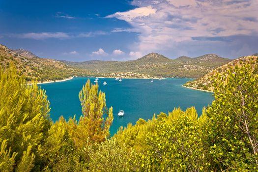 Telascica bay yachting and sailing destination