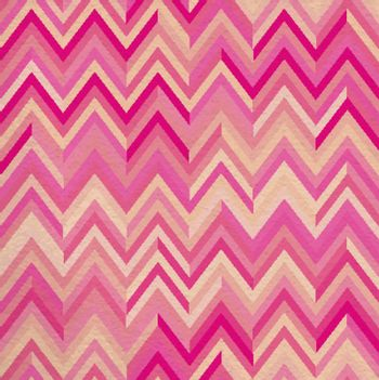 Seamless pattern pink zigzag hipster retro vintage