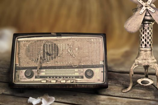 Classic and old radio