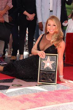 Mariah Carey at the Mariah Carey Star on the Hollywood Walk of Fame, Hollywood, CA 08-05-15