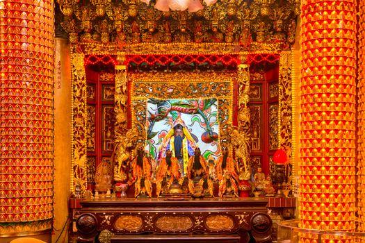 Alatar in the Bishan Temple in Taipei.