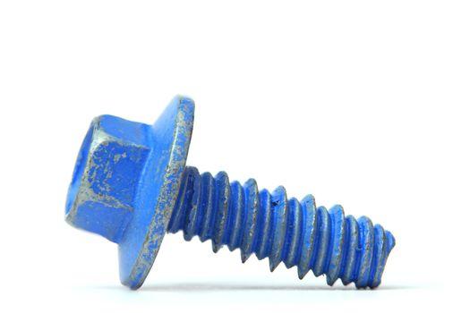 Coated screw