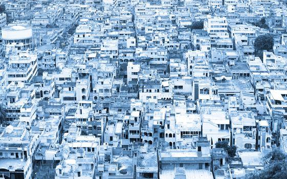 Vijayawada aerial view