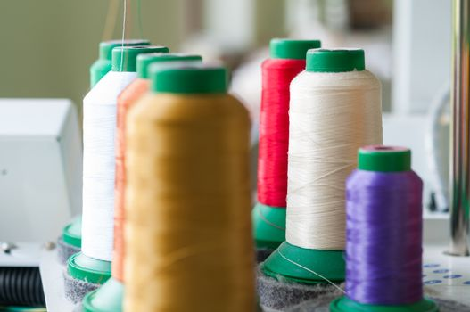 Colourful Sewing Threads