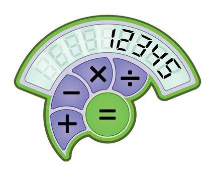 Modern calculator icon
