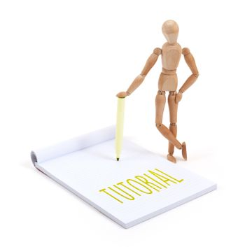 Wooden mannequin writing - Tutorial