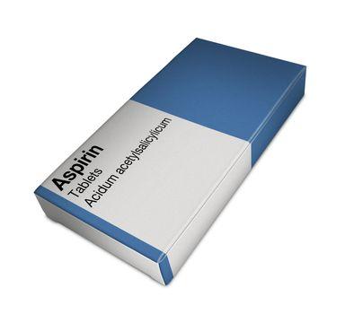 aspirin box