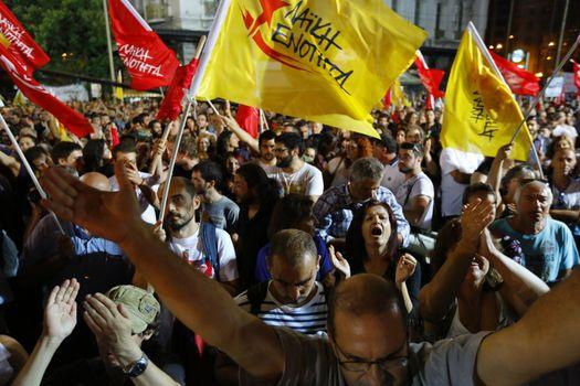 GREECE - POLITICS - POPULAR UNITY RALLY
