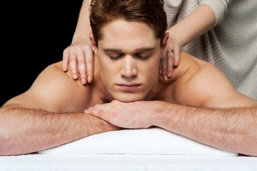 Massage gives me more relaxation.