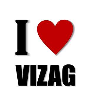 I love Vizag