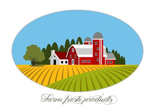 Farm fresh icon