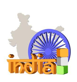 India concept