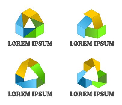 Continuous loop design elements