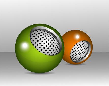 Spherical design elements