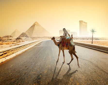 Road to Giza