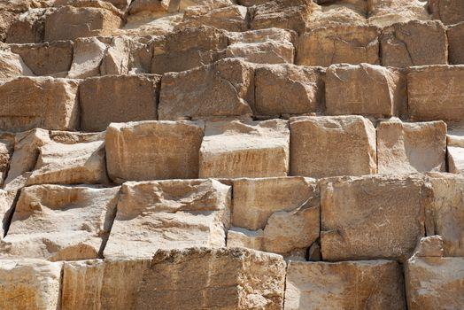 Wall of pyramid