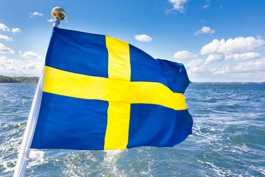 Swedish national flag.
