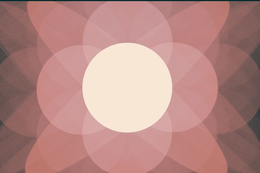 Fractal image: geometric pattern of circles.