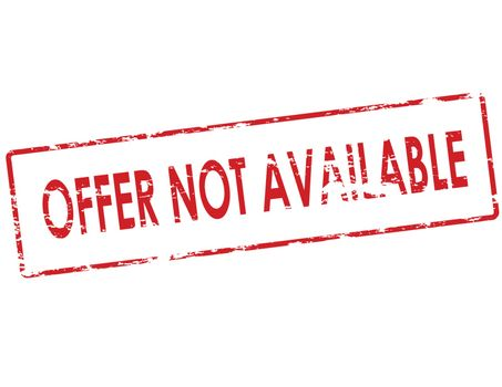 Offer not available
