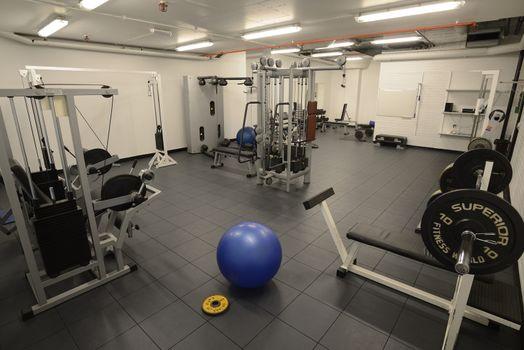 Empty Gymnasium.