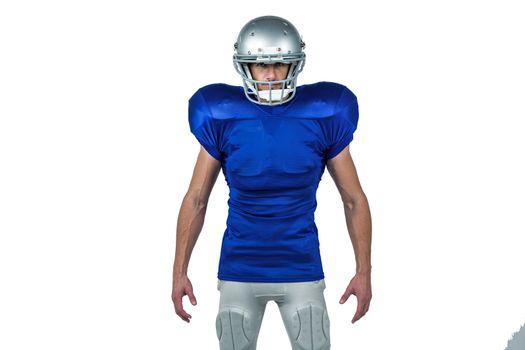 Portrait of confident sports man standing
