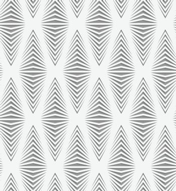Perforated paper with onion shapes
