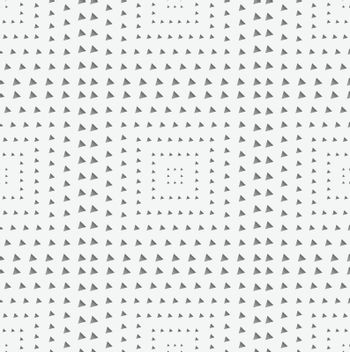 Perforated paper with squares textured with triangles