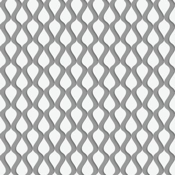 Perforated paper with vertical drops