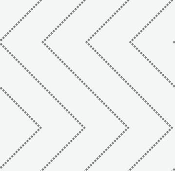 Perforated paper with zigzag textured with squares