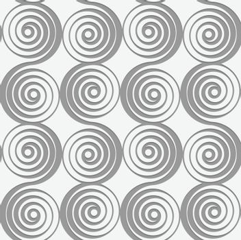 Perforated merging spirals