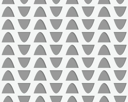 Perforated semi ovals