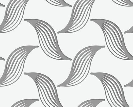 Perforated striped birds