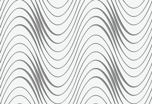 Perforated waves with uneven thickness