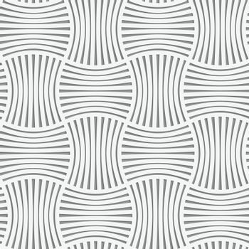 Perforated stripy grid