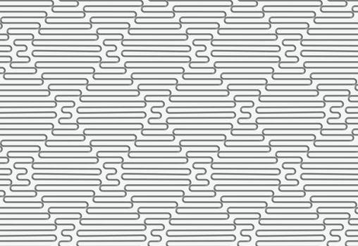 Perforated wavy rhombuses