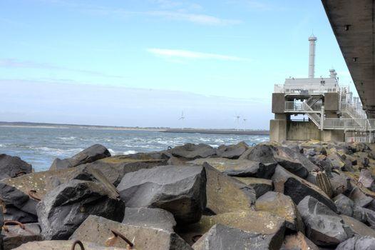 Delta park in Holland Zeeland with dam museum