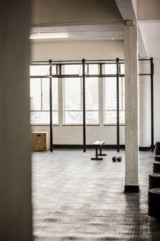 Arrangement of exercising equipment