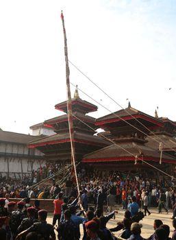 NEPAL - INDRAJATRA - FESTIVAL