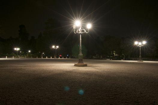 Piazzale Pincio night