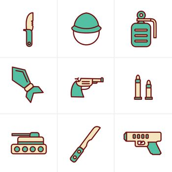 Icons Style Icons Style  military icons