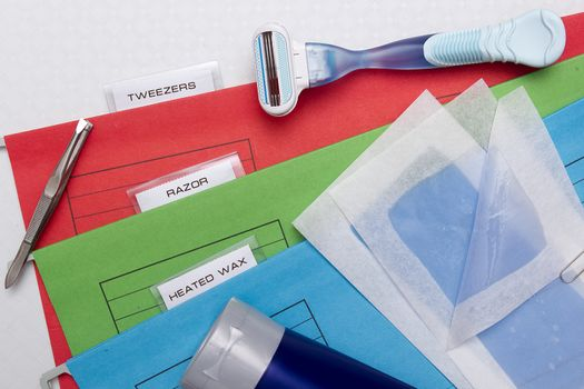 Folders options depilation