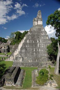 Mayan pyramid in Guatemala