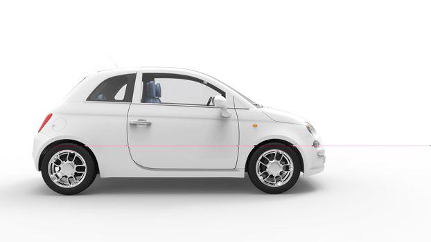 Modern Compact Car 3