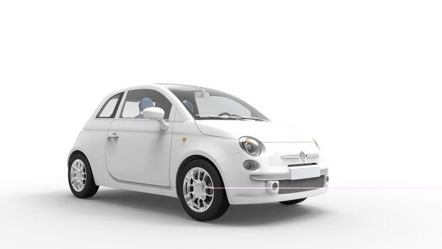 Modern Compact Car 4
