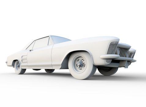 Car Clay Render